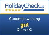 Alpengasthof Moser - Gesamtbewertung sehr gut (5.7 von 6)