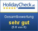 Aparthotel Garni Kofler - Gesamtbewertung sehr gut (5.6 von 6)