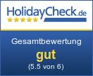 Hotel Venus - Gesamtbewertung sehr gut (5.8 von 6)