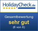 Ferienhaus Allgäuvilla - Gesamtbewertung sehr gut (5.9 von 6)