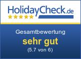 Parkhotel Tirolerhof - Gesamtbewertung sehr gut (5.7 von 6)