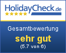 Alpenchalet Reit im Winkl - Gesamtbewertung gut (5.2 von 6)