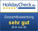 Weinhof Narat-Zitz - Gesamtbewertung sehr gut (5.9 von 6)