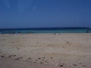 Plaża Zatoka Nabq