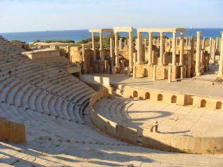 Avis - Ausgrabungsstätte Leptis Magna