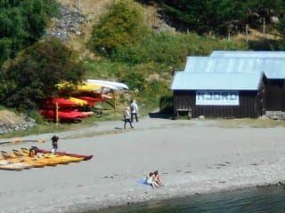 Spływ Kajakowy Aurlandsfjord