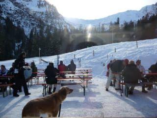 Restauracja Bärgunt-Hütte