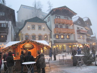 Bazary adwentowe Wolfgangsee