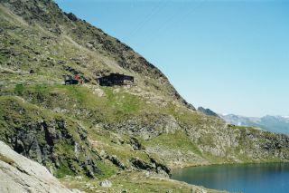 Wędrówki Wangenitzseehütte