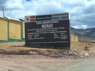 Zabytek Inka-Anlage Moray