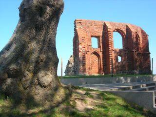 Ruiny kościoła Trzęsacz