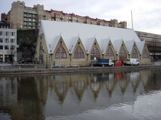 Market Fischhalle Feskekörka