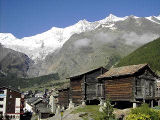 Gletscherdorf Saas Fee