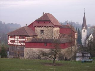 Zamek na wodzie Hagenwil