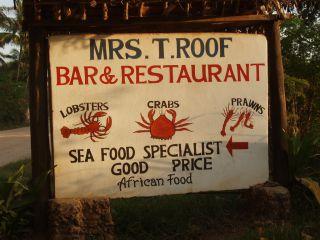 Avis - Restaurant Mrs. T. Roof