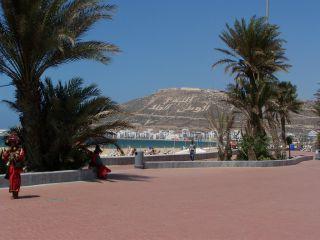 Promenada plażowa Agadir