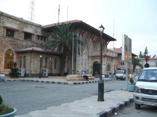 Stacja kolejowa w Bagdadzie