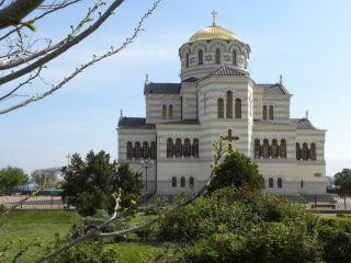 Sobór św. Włodzimierza Chersonez Taurydzki