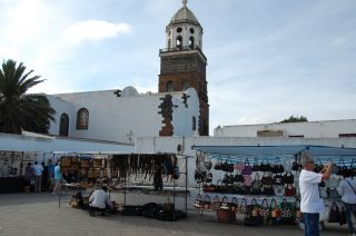 Rynek w Teguise
