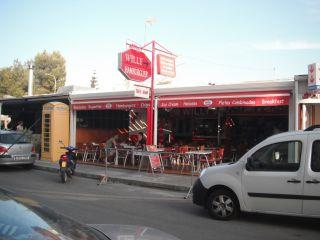 Fast food Willy's Hamburger
