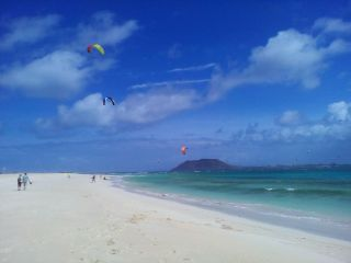 Szkoła kitesurfingu Corralejo