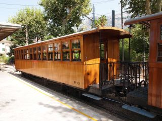 Zug Tren de Sóller 'Roter Blitz'