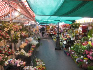 Reviews- Flower market  Nice