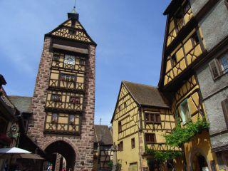 Stare miasto Riquewihr