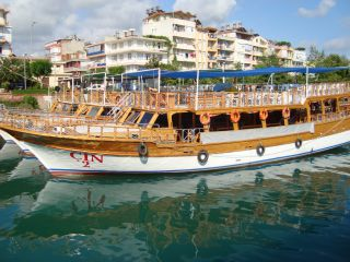 Rejs łodzią Side