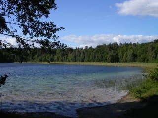 Jezioro Peetschsee - Märchensee