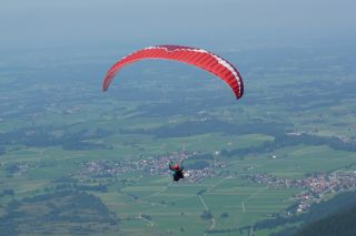 Reviews- Tandem paragliding flight from the Nebelhorn summit