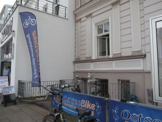 Wypożyczalnia rowerów OstseeBike Warnemünde