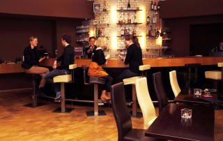 Karlsruhe dunkelrestaurant Dinner in
