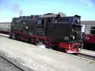 Podróże z HSB Harzer Schmalspurbahnen