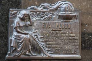 Cmentarz Recoleta - grób Evity Peron