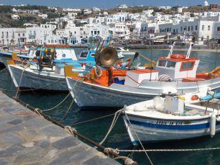 Avis - Port de Mykonos
