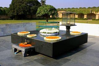 Reviews- Rajghat memorial für Mahadma Gandhi