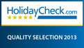 Villa Magdalena received HolidayCheck Quality Selection 2013 certificate