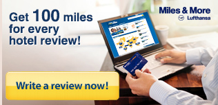 Miles and More - write a review - get 100 miles