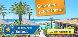 HolidayCheck Select