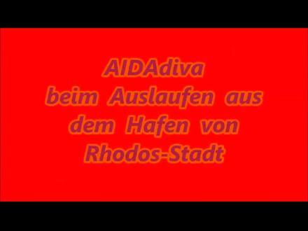 AIDAdiva - Rhodos-Stadt