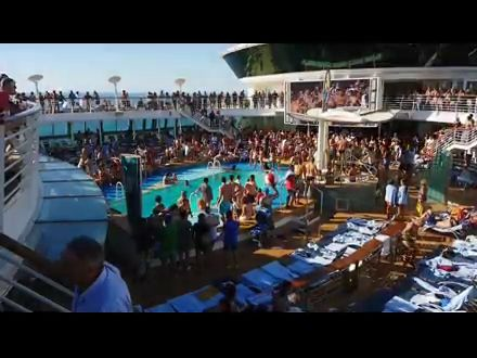Poolparty am Seetag